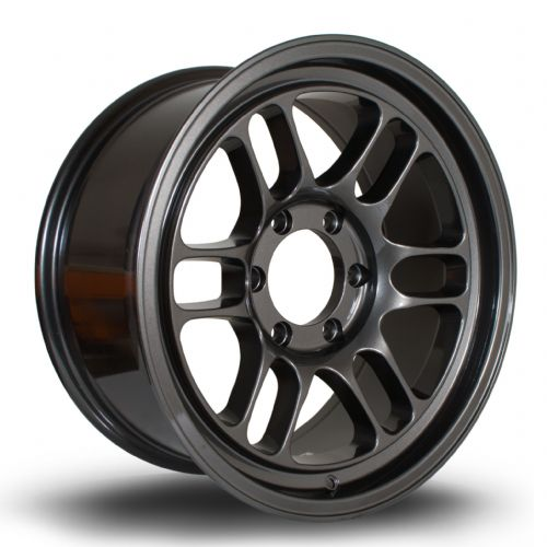 356 Wheels TFS-4X4 18x8.5 ET10 6x139 Gun Metal
